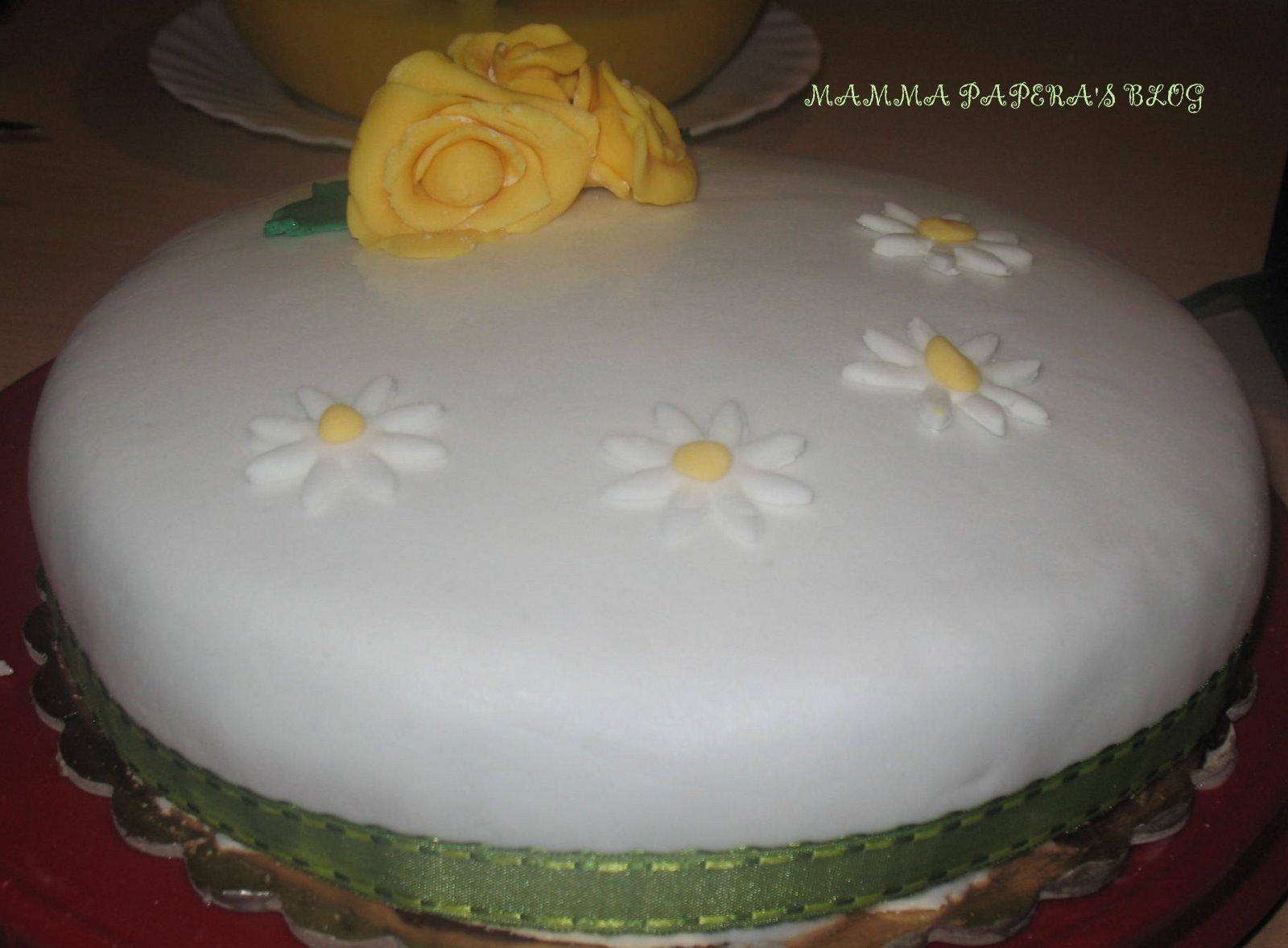 Molto Mamma Papera — Torta di compleanno per la mamma XW03