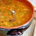 Zuppa di avanzi gluten free