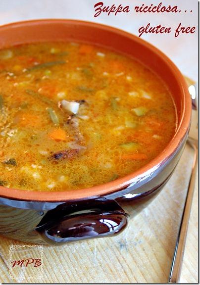 zuppa riciclosa...gluten free 001