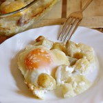 Uova e asparagi al forno