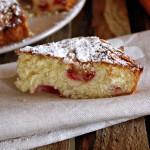 Torta di ciliegie velocissima