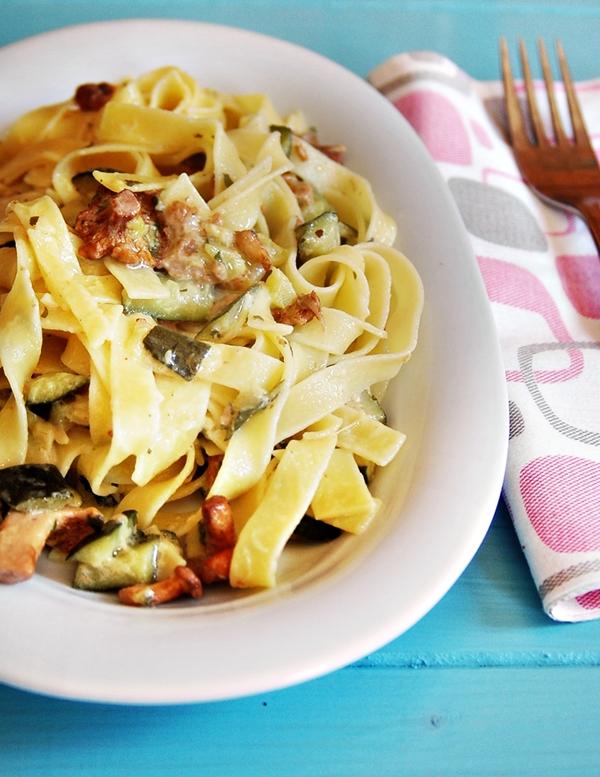 Ricette per golosi pasta ai finferli for Ricette per pasta