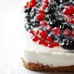 Torta fredda allo yogurt light (senza panna e senza uova)