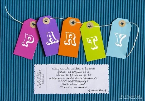Decorazioni Per Feste Di Compleanno Bambini Fai Da Te : Feste per bambini: biglietti dinvito e decorazioni fai da te