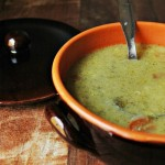 Zuppa di broccoli romani light