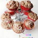 Cupcake alla nutella con prodotti Netcasa