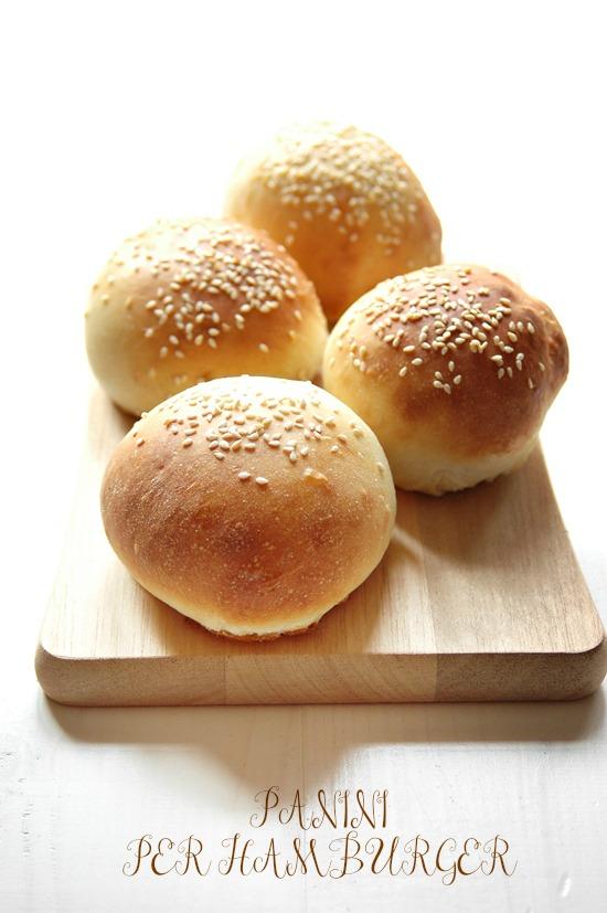 Popolare Mamma Papera — Panini soffici per hamburger al sesamo HC89
