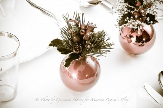 Decorazioni Natalizie Tavola.Decorazioni Per La Tavola Di Natale Con Tutorial Mamma Papera