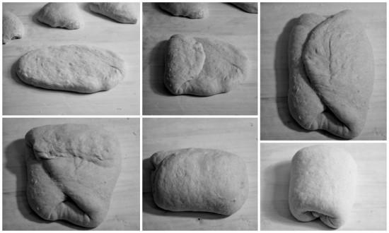 pane francese collage