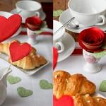 Decorazioni per la tavola di San Valentino: rose di carta fai da te con tutorial