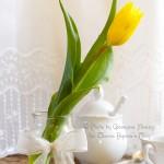 Il riciclo che rende bella la tavola di primavera
