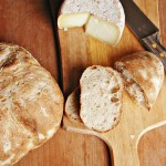 Pane senza impasto con lievito madre secco