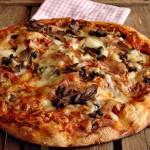 Pizza all'80% di idratazione con lievito madre secco
