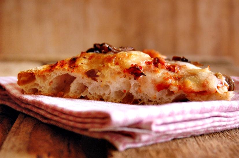 Ricetta Pizza Napoletana Lievito Secco.Pizza All 80 Di Idratazione Con Lievito Madre Secco Mamma Papera