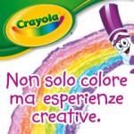 La nostra #esperienzacreativa con Crayola
