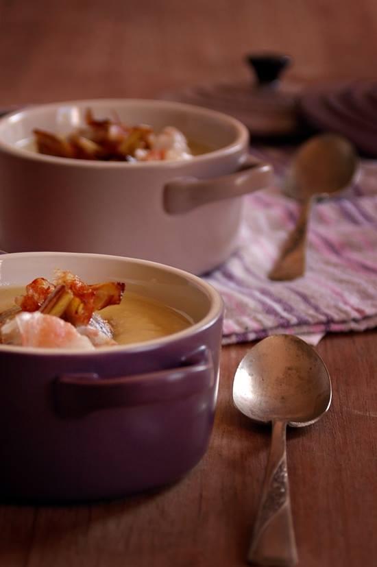 crema di fave e carciofi