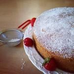 Torta di ciliegie integrale