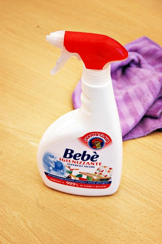pulito e igienizzato