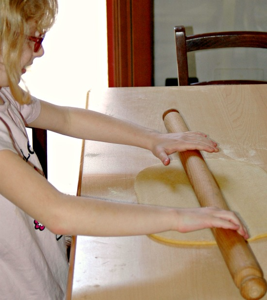 stendere le lasagne