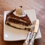 Torta morettina con crema al latte