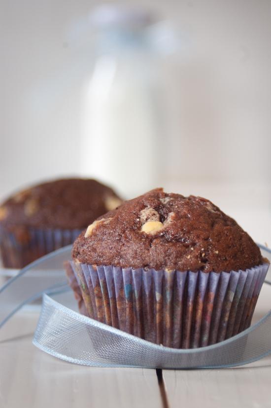 Muffin al cacao e profumo di arancia
