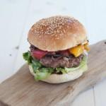 Panini da hamburger senza lattosio e Hamburger onto